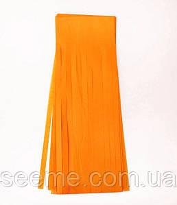 Бумажная гирлянда-кисточка из тишью «Tangerine», набор из 5 шт.