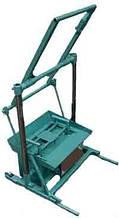 Віброверстат для виробництва шлакоблоків «ВУС-1УП»
