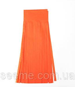 Бумажная гирлянда-кисточка из тишью «Orange», набор из 5 шт.