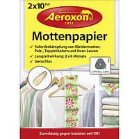 Aeroxon Mottenpapier 2x10 Blatt - Средство для защиты гардероба от моли и жуков, 2*10 шт., 20 шт.