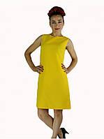 Летнее платье Футляр (Желтый), фото 1