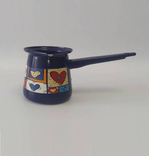 Турка емальована METROT 2772с 4-чашки Валентинка Таково185439