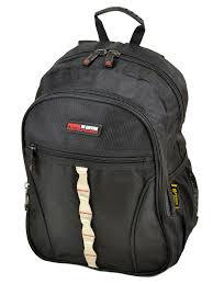 Черный городской рюкзак 8823 black, фото 1