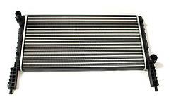 Радиатор охлаждения Fiat Doblo 2001- (1.2-1.6) 580*318мм по сотах