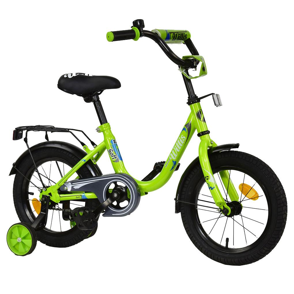 Велосипед WILLIS Салатовый R 1414
