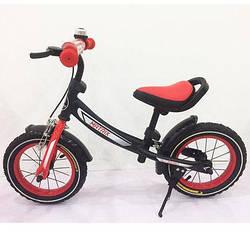 Велобіг від, Беговел BALANCE TILLY 12 Matrix T-21259 Red , Дитячий безпедальный велосипед ( Червоний )