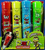 Конфета - спрей фонарик Johny Bee® Torch Spray
