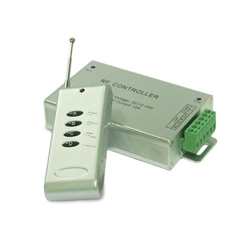 RGB контроллер 12A RF 144W 12V 4 кнопки