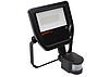 Прожектор светодиодный Floodlight LED  50W/4000K BK Sensor IP65, OSRAM
