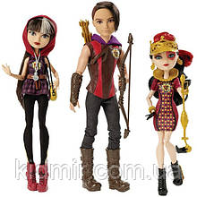Набор кукол Ever After High Сериз, Хантер, Лиззи из серии TriCastleOn Школа Долго и Счастливо
