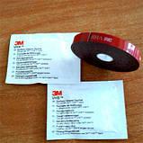 Набор 3М для монтажа ветровиков (скотч, салфетки), фото 2