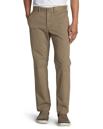 Брюки чинос мужские Eddie Bauer Mens Classic Fit Legend Wash Chino SADDLE, фото 2
