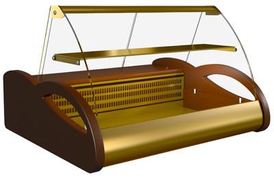 Настольная морозильная витрина Полюс ВХСн-1,5 Арго Люкс