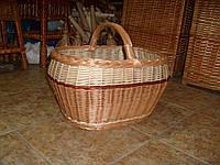 Одиночные корзины из лозы любых форм, фото 1