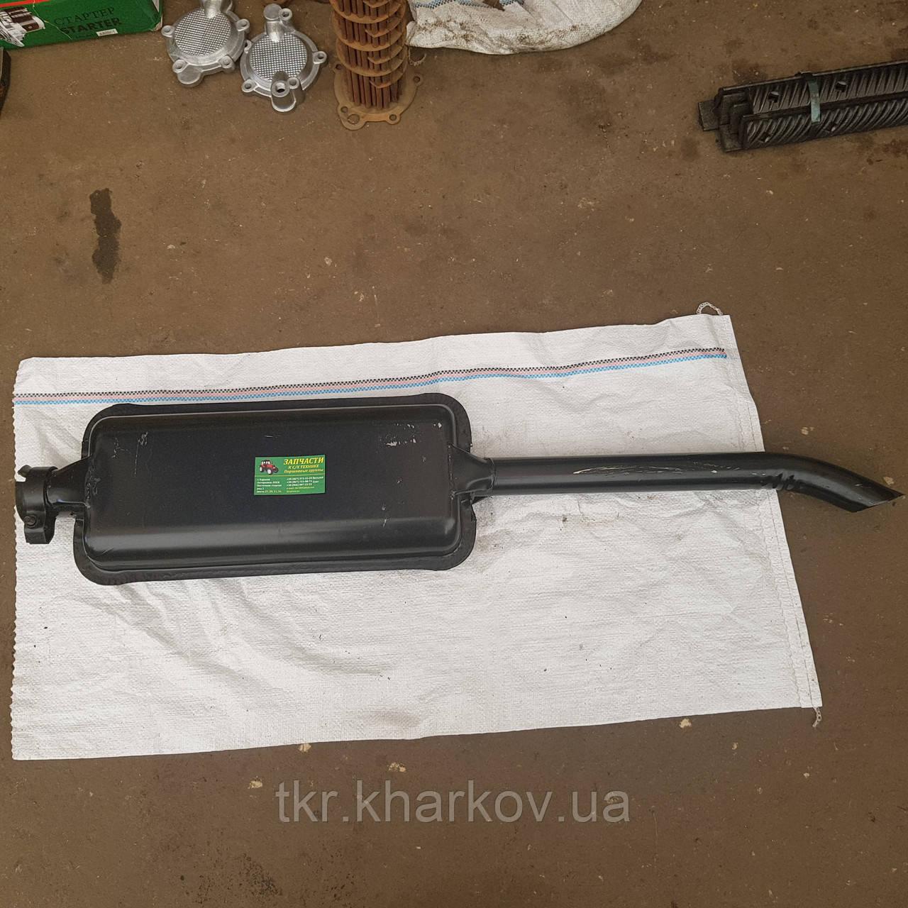Глушитель МТЗ ЮМЗ средний L=1150 мм