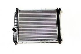 Радиатор охлаждения Chevrolet Aveo (1.2-1.6) 480*410мм по сотах KEMP
