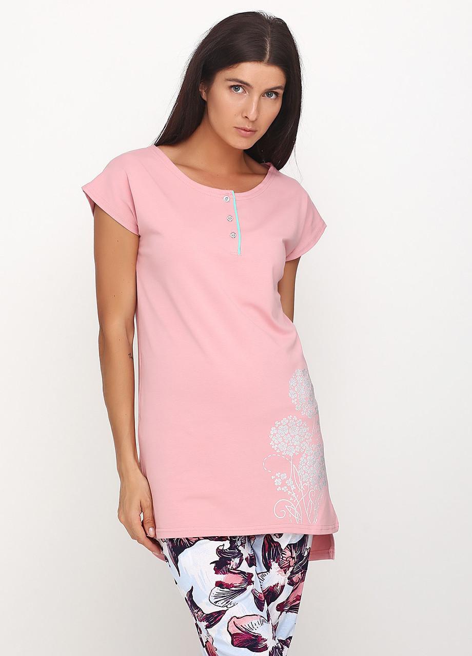 Женская футболка с планкой