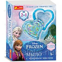 """Мыло ручной работы """"Бриллиантовое сердце"""" Frozen"""
