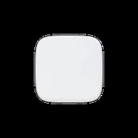 Клавиша для одноклавишного выключателя/переключателя на два направления Valena Allure Legrand, цвет белый
