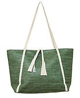 Женская вместительная легкая сумка зеленая (opt-P241/3)