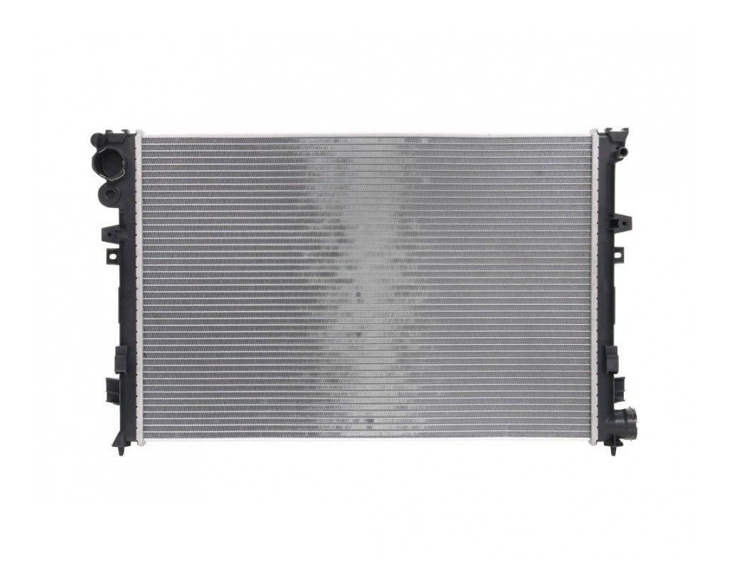 Радиатор охлаждения Fiat Scudo 1998- (1.9D-2.0HDI) 670*446мм по сотах KEMP
