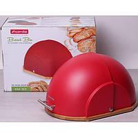 Хлебница Kamille Breadbasket с пластиковой крышкой, фото 1