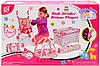 Игровой кукольный набор с коляской 86866
