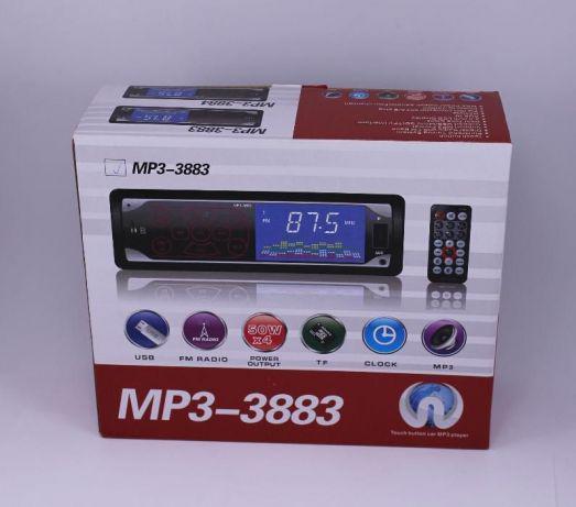Автомагнитола 3883, сенсорный экран, 1DIN, ISO, MP3