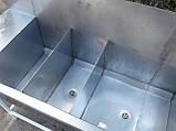 Мойка промышленная из нержавейки 1,77 м. б/у, нержавеющая мойка промышленная б у., фото 9
