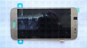 Дисплей с сенсором Samsung J250 Galaxy J2 2018 золотистый/gold, GH97-21339D, фото 2