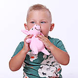 Мягкая игрушка Поросенок Пупсик 19см, фото 2