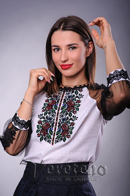 Жіноча вишита блузка cb5b086c18014