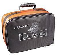 Чехол Dragon для 4 катушек Hells Anglers (CHR-95-07-001)