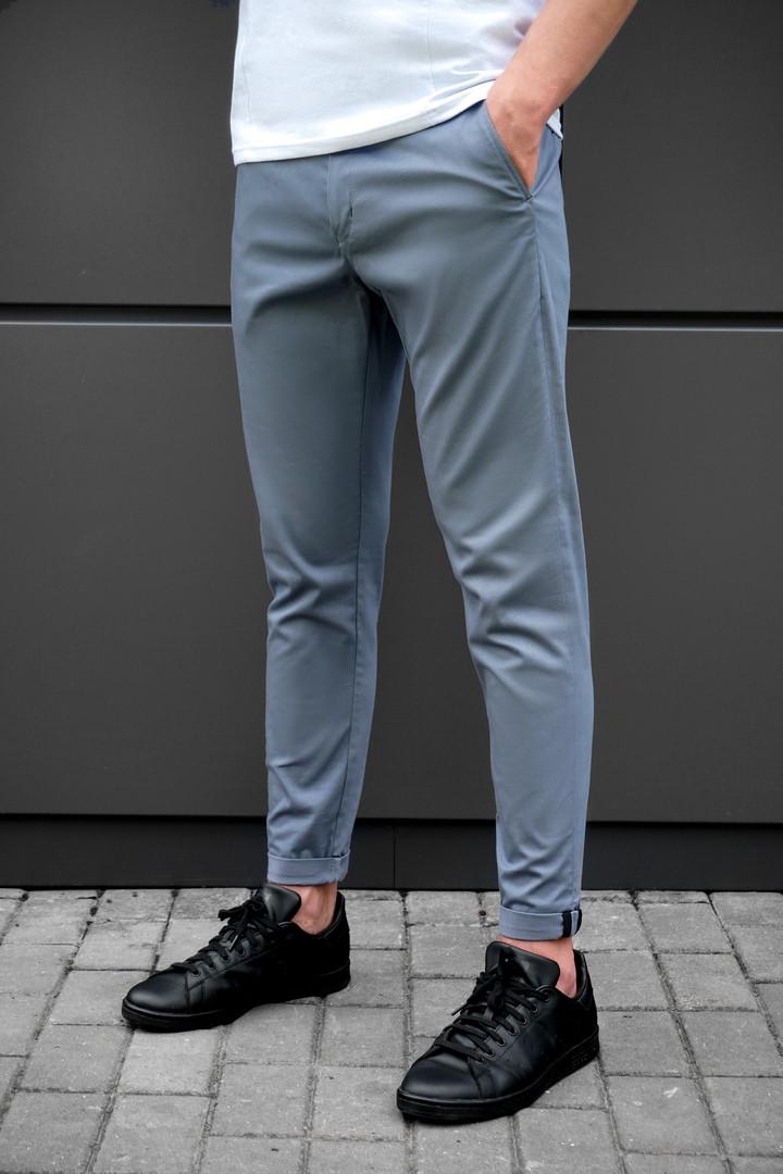 Брюки мужские beZet classic grey '18