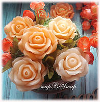 """Набор мыла """"Корзина с Раскрытыми розами"""" , фото 1"""