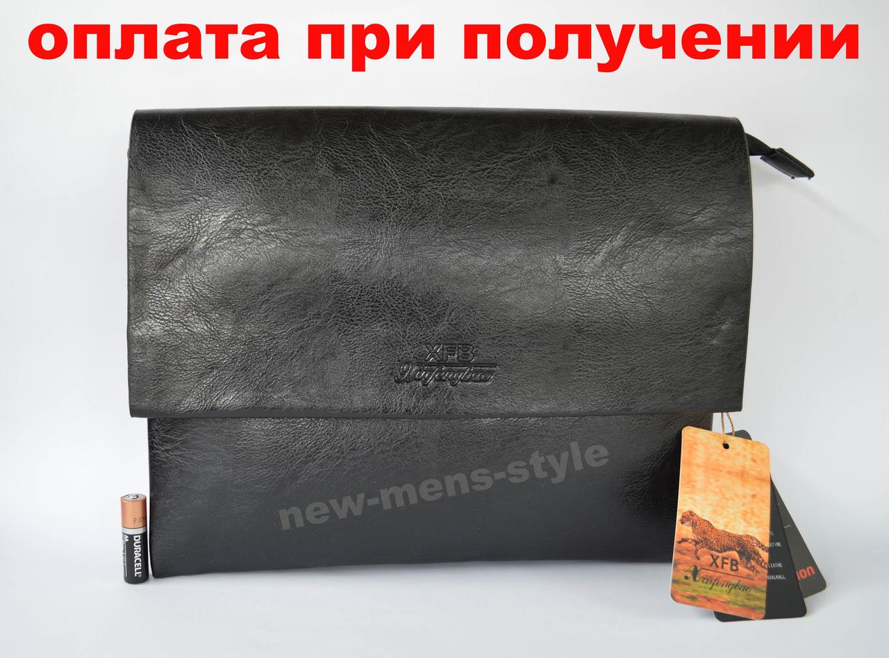 e73faf9db7ac Мужская кожаная брендовая сумка через плечо для документов А4 портфель POLO  -