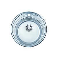 Мойка кухонная ULA 7109 ZS нержавейка Satin 0.8 мм
