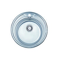 Мойка кухонная ULA 7109 ZS нержавейка Polish 0.8 мм