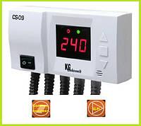 Лучший контролер для солнечных коллекторов KG Elektronik CS-09