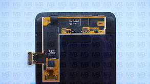 Дисплей з сенсором Samsung A730 Galaxy A8 Plus чорний/black, GH97-21534A, фото 3