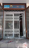 Раздвижные решетки на окна и двери 2 типа КОМПРЕД