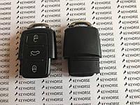 Корпус нижней части выкидного ключа для VOLKSWAGEN (Фольксваген) , 3 - кнопки