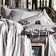 Комплект постільної білизни 200x220 ІЅЅІМО BURTON сірий, фото 2