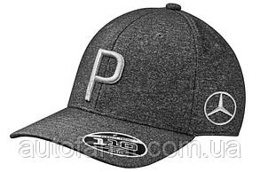 Бейсболка Mercedes Golf Cap, Black/Grey, by PUMA, артикул B66450285
