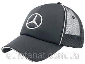 Бейсболка Mercedes-Benz Unisex Cap Trucker Style, Grey, 2016, артикул B67870975
