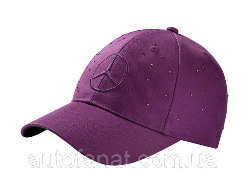 Женская бейсболка Mercedes Women's Сap, 100% cotton, Plum (B66953160)