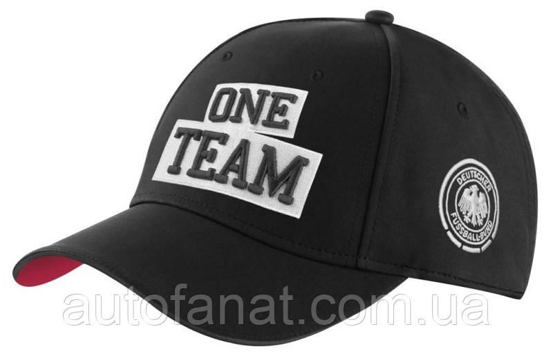 Мужская бейсболка Mercedes-Benz ONE TEAM Unisex cap, Black (B66958190)