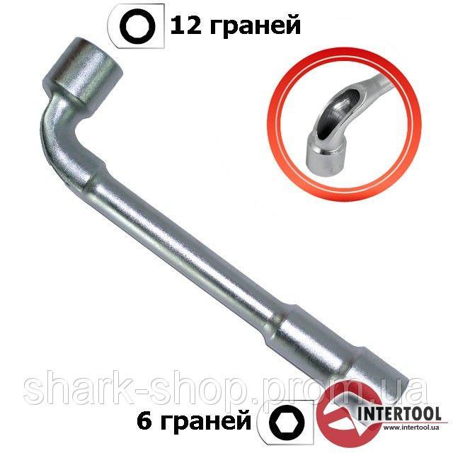 Ключ торцовый с отверстием L-образный 17мм