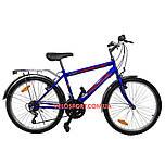 Дорожный велосипед Mustang Upland 24 дюйма сине-красный