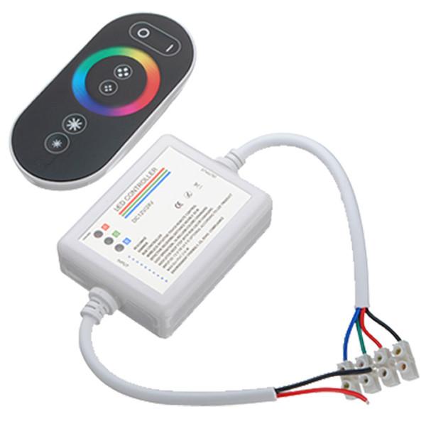 RGB контроллер Touch Series  RF - радио с сенсорным пультом для светодиодной ленты